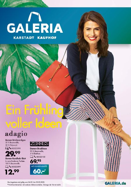Galeria Karstadt Kaufhof vom 26.02.2020