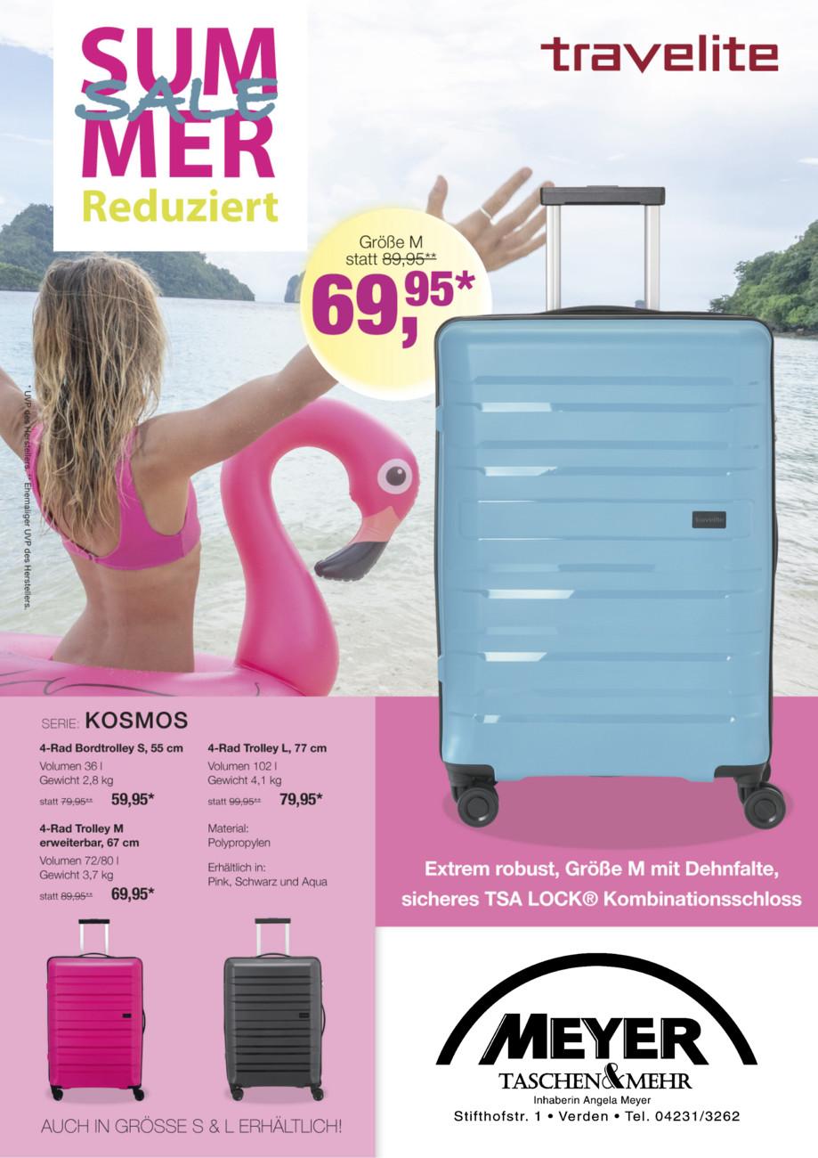 Leder Meyer Travelite Sommer-Flyer 2019 vom Donnerstag, 20.06.2019