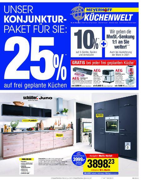 Meyerhoff Küchenwelt vom 03.09.2019