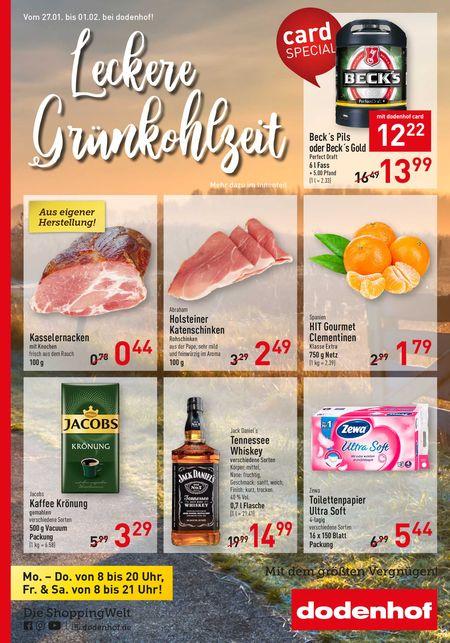 Dodenhof Genießermarkt vom 25.01.2020
