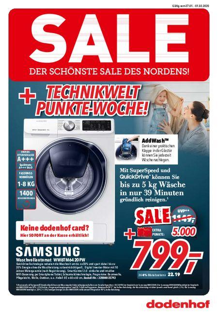 Dodenhof Technik vom 25.01.2020