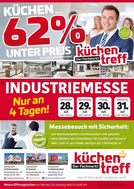 Küchentreff Industriemesse vom 28.07.2021