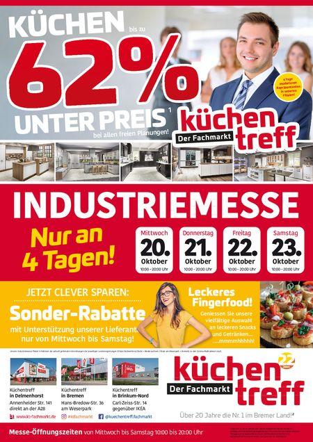 Küchentreff Industriemesse vom 20.10.2021