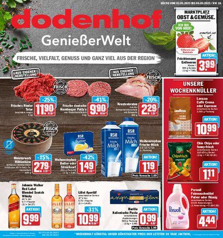 Dodenhof Genießermarkt vom 03.05.2021