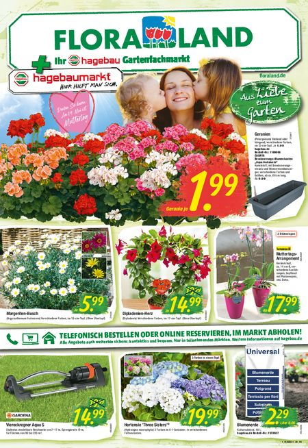 Thies & Co. Floraland vom 06.05.2021