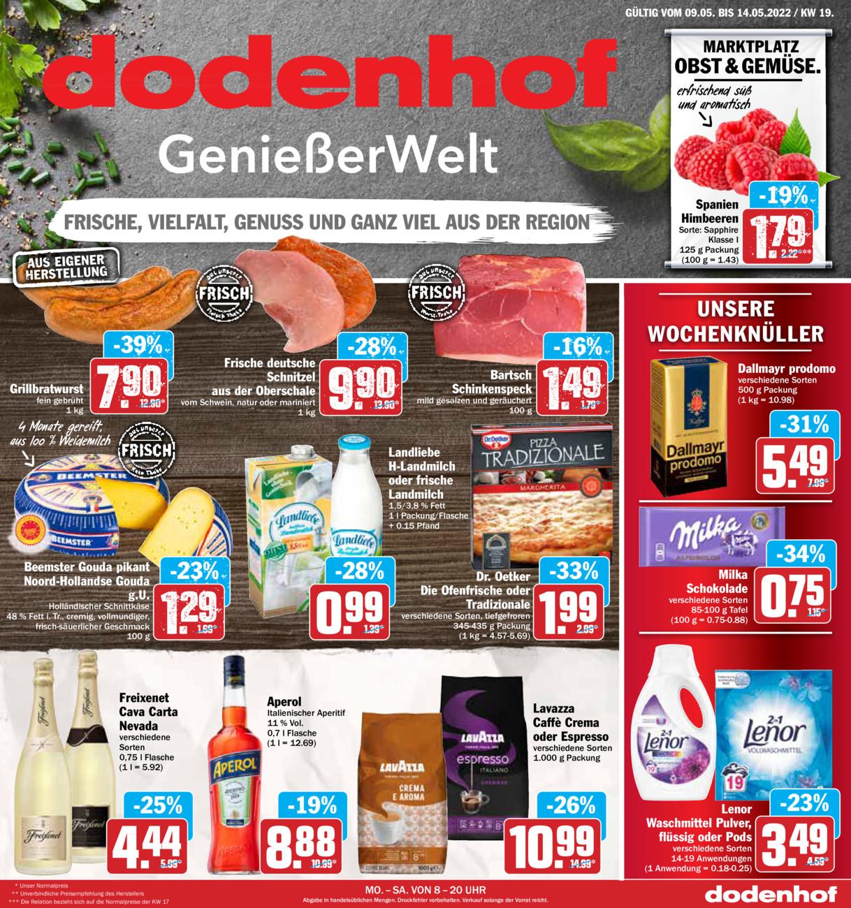 Dodenhof Genießermarkt vom Sonntag, 09.05.2021