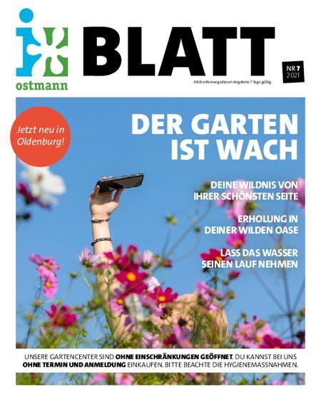 """Blumen Ostmann Blatt 7 """"der Garten ist wach"""" vom 15.05.2021"""