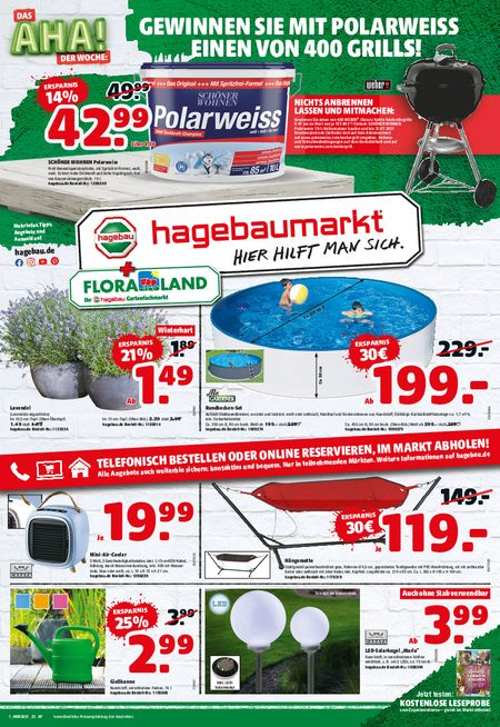 Thies & Co. Floraland vom 10.06.2021