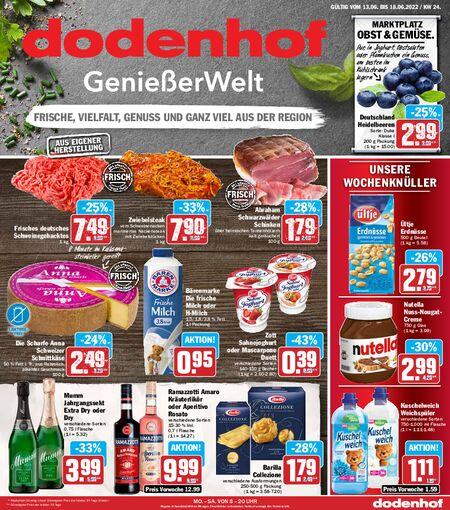 Dodenhof Genießermarkt vom 13.06.2021