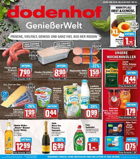 Dodenhof Genießermarkt vom 20.06.2021