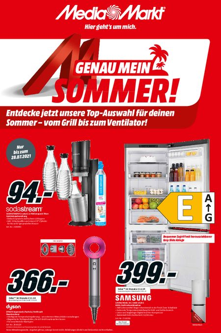 MEDIA MARKT - MM_Sommer_KW29 vom 22.07.2021