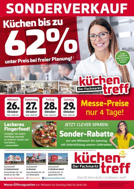 Küchentreff_Sonderverkauf vom 27.10.2021