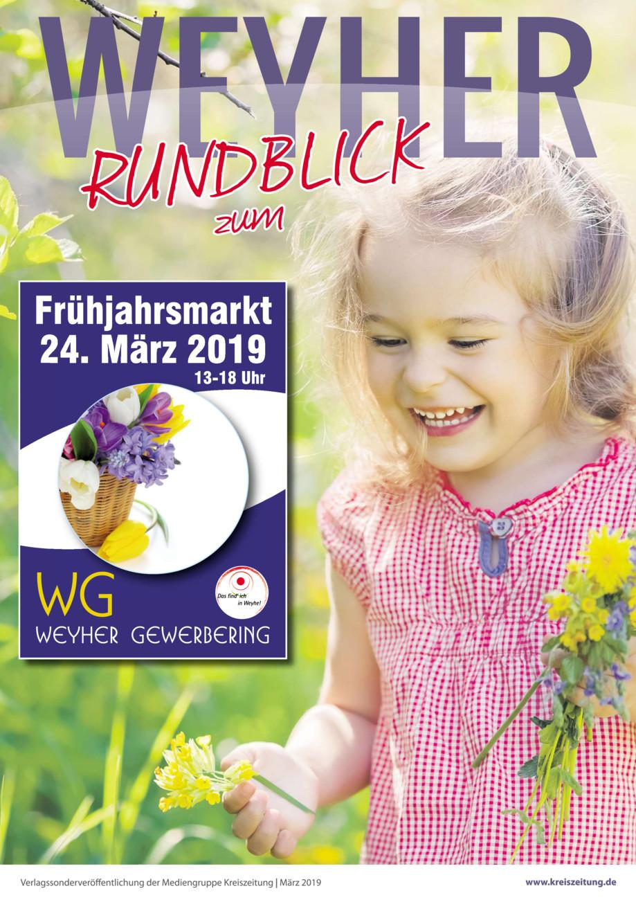 Weyher Frühjahrsmarkt vom Freitag, 22.03.2019