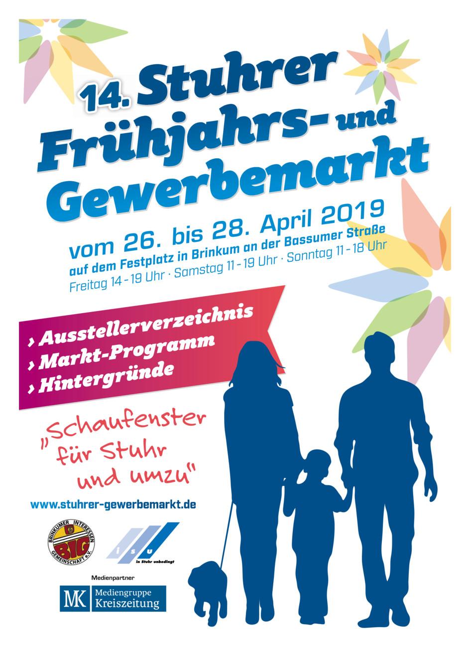 Stuhrer Frühjahrs- und Gewerbemarkt vom Mittwoch, 24.04.2019