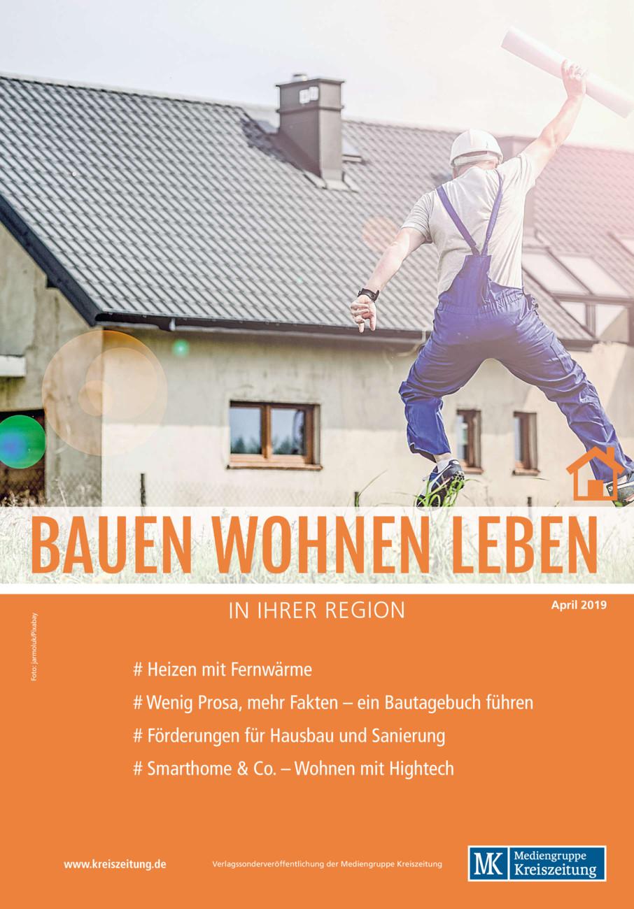 Bauen Wohnen Leben (Süd) vom Freitag, 26.04.2019