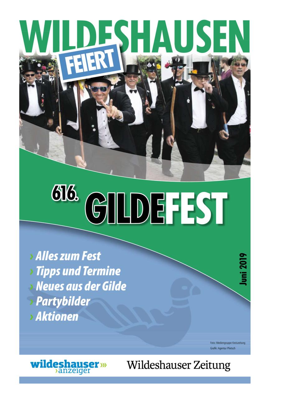 Wildeshausen feiert - 616. Gildefest vom Donnerstag, 06.06.2019