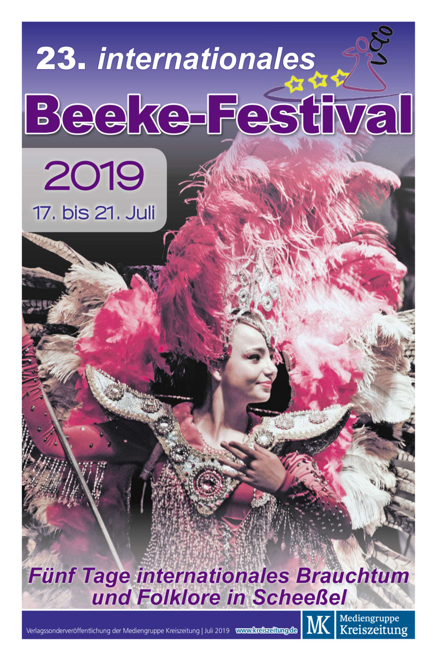 23. internationales Beeke-Festival vom Samstag, 13.07.2019