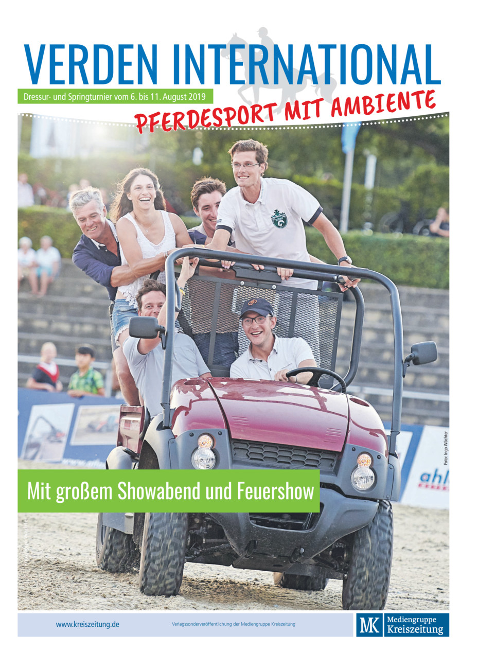 Verden International vom Freitag, 02.08.2019