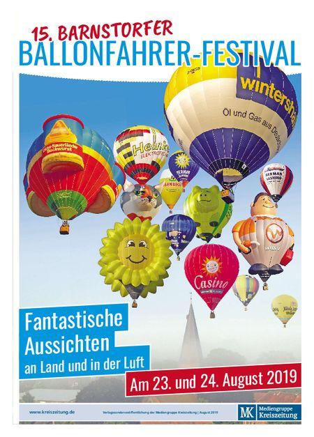 Barnstorfer Ballonfahrer-Festival vom 17.08.2019