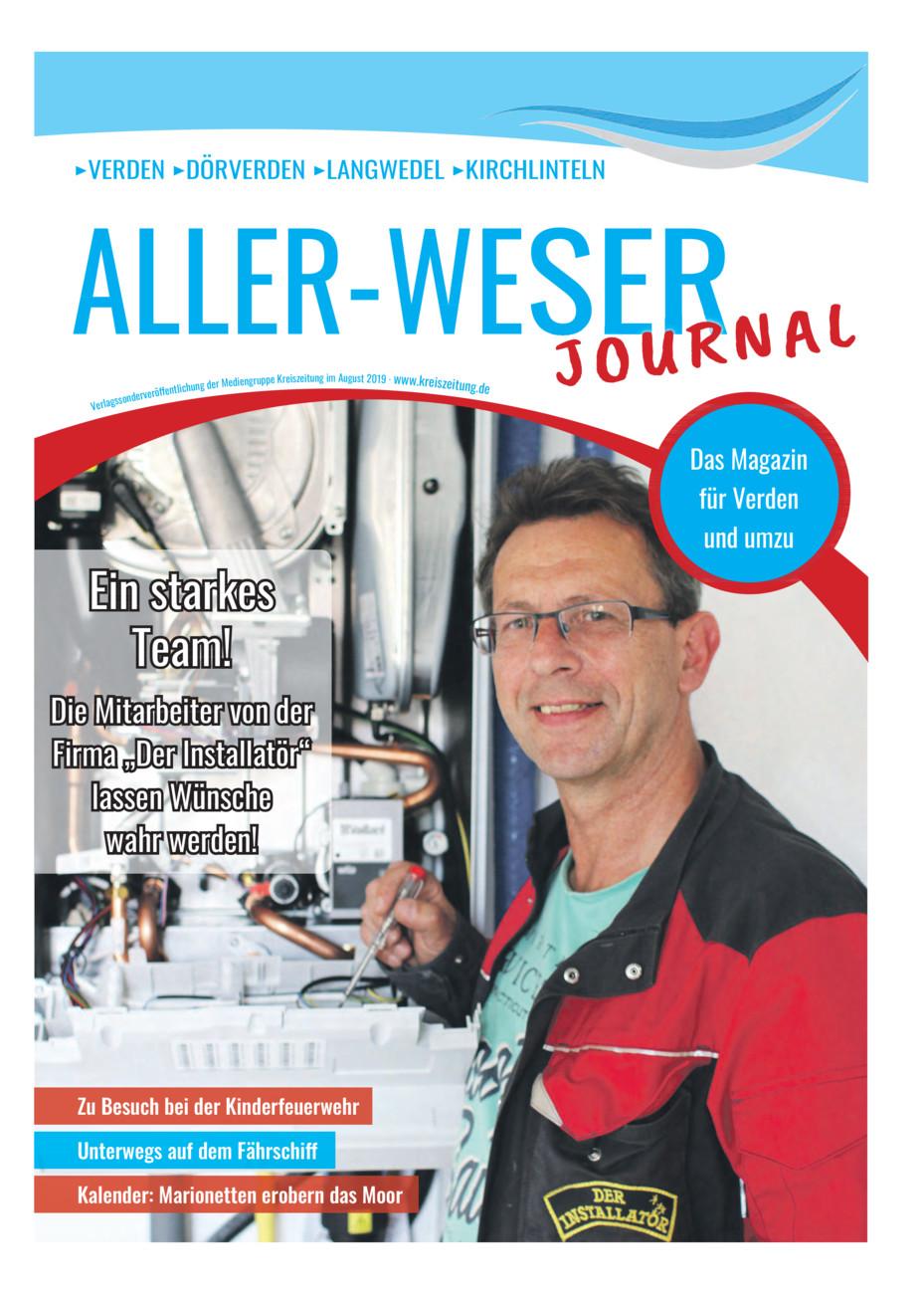 Aller-Weser-Journal vom Freitag, 23.08.2019