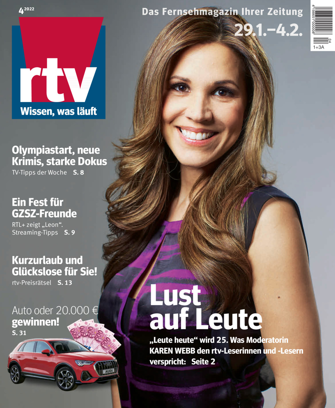RTV 25. - 31.01. vom Dienstag, 21.01.2020