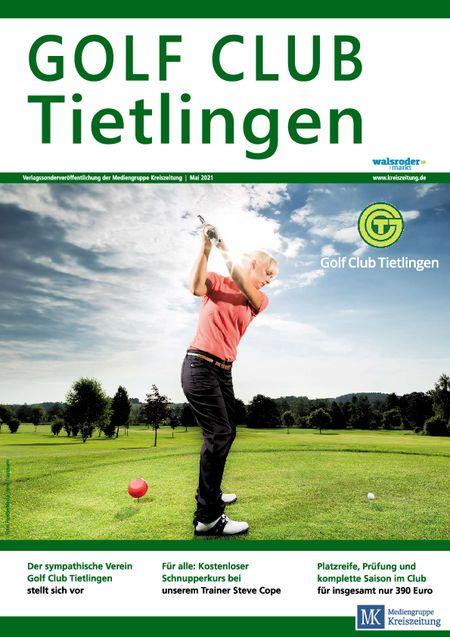Golfclub Tietlingen vom 22.05.2021