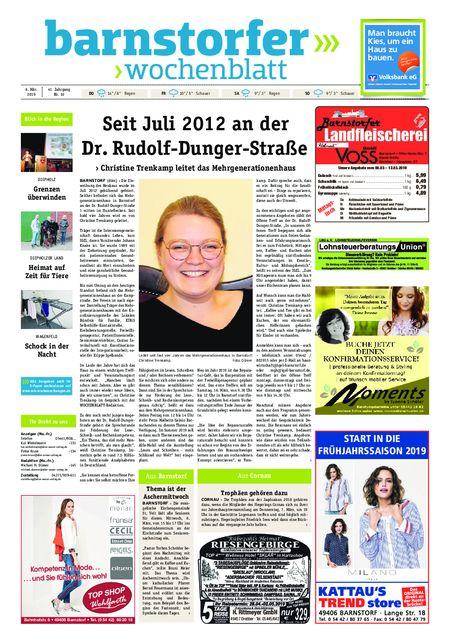 Barnstorfer Wochenblatt vom 06.03.2019