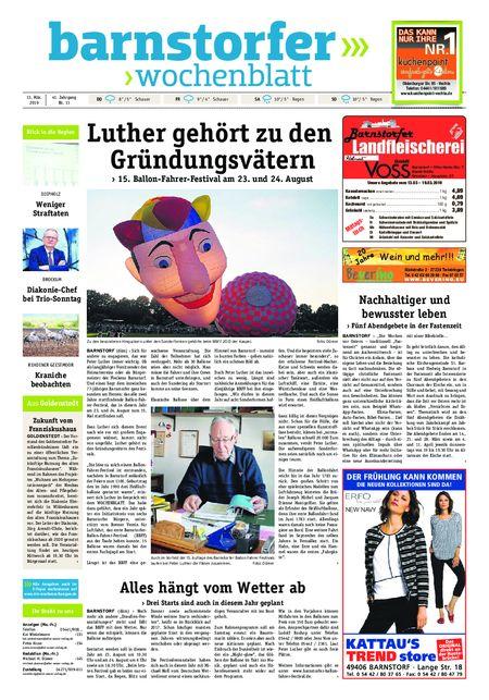 Barnstorfer Wochenblatt vom 13.03.2019
