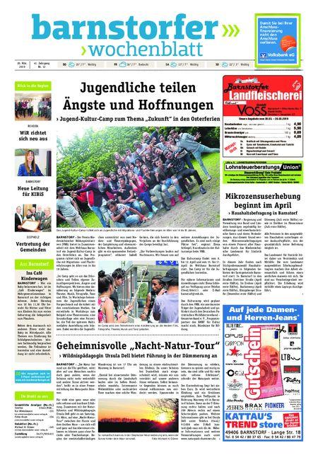 Barnstorfer Wochenblatt vom 20.03.2019