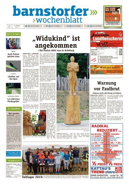 Barnstorfer Wochenblatt vom 17.07.2019