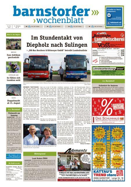 Barnstorfer Wochenblatt vom 24.07.2019