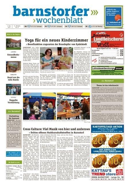 Barnstorfer Wochenblatt vom 04.09.2019