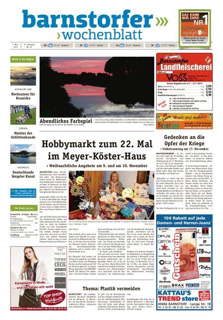 Barnstorfer Wochenblatt vom 06.11.2019