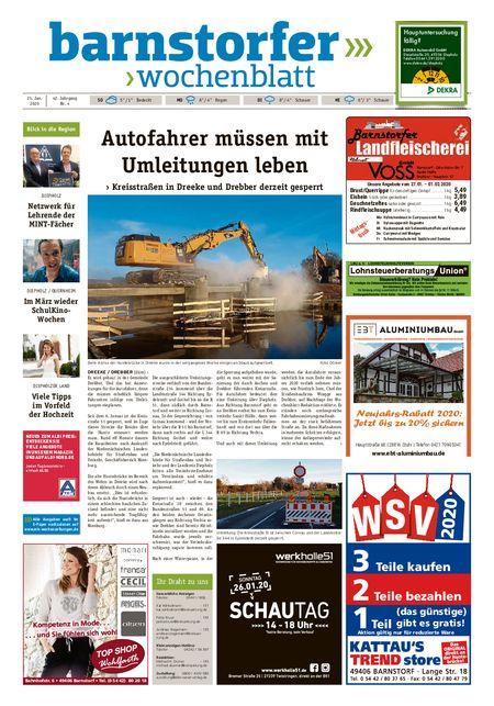 Barnstorfer Wochenblatt vom 25.01.2020