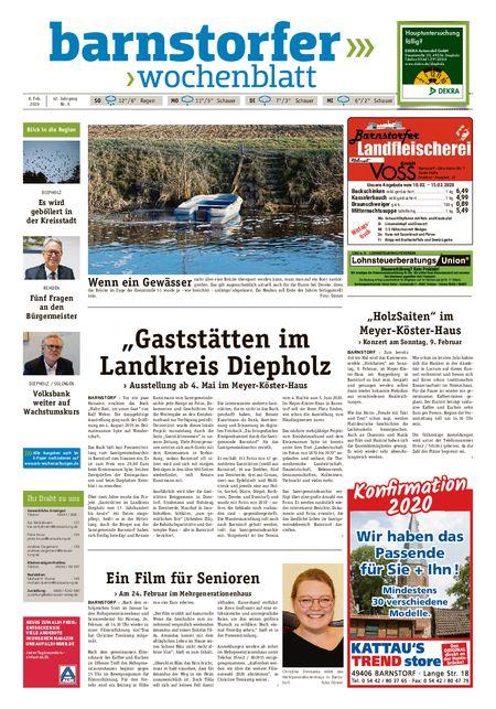 Barnstorfer Wochenblatt vom 08.02.2020