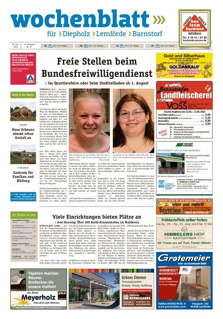 Barnstorfer Wochenblatt vom 20.06.2020
