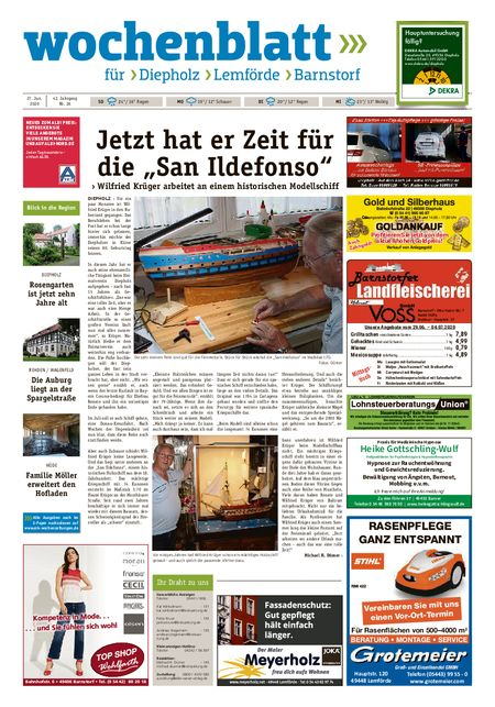 Barnstorfer Wochenblatt vom 27.06.2020