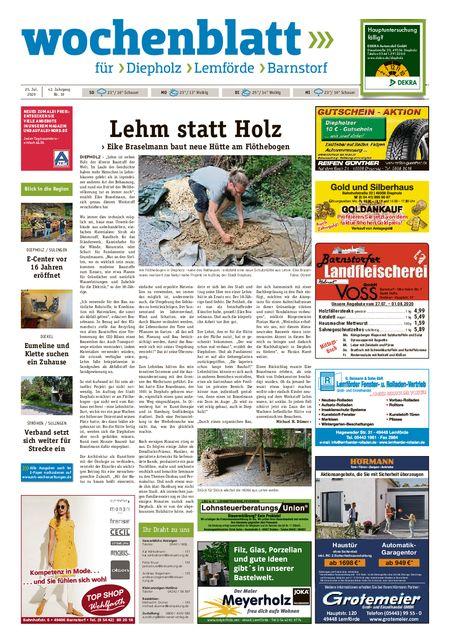 Barnstorfer Wochenblatt vom 25.07.2020