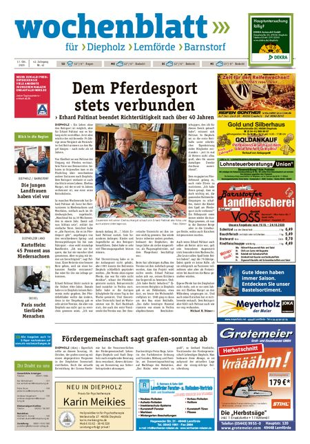 Barnstorfer Wochenblatt vom 17.10.2020