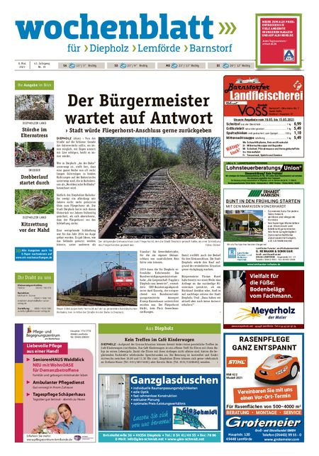 Barnstorfer Wochenblatt vom 08.05.2021