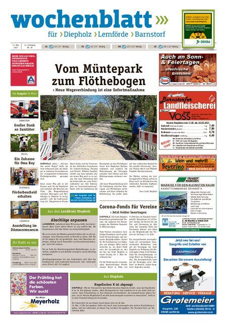 Barnstorfer Wochenblatt vom 15.05.2021
