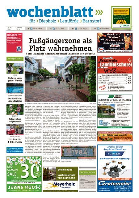 Barnstorfer Wochenblatt vom 29.05.2021