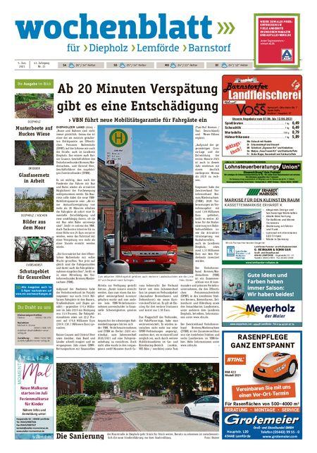 Barnstorfer Wochenblatt vom 05.06.2021