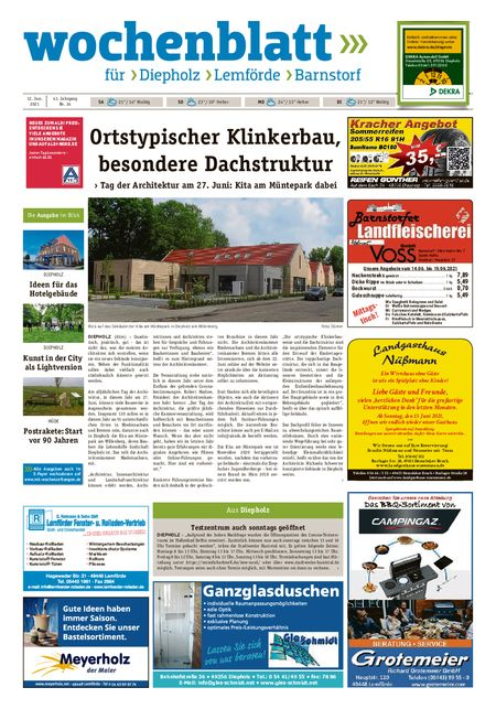 Barnstorfer Wochenblatt vom 12.06.2021