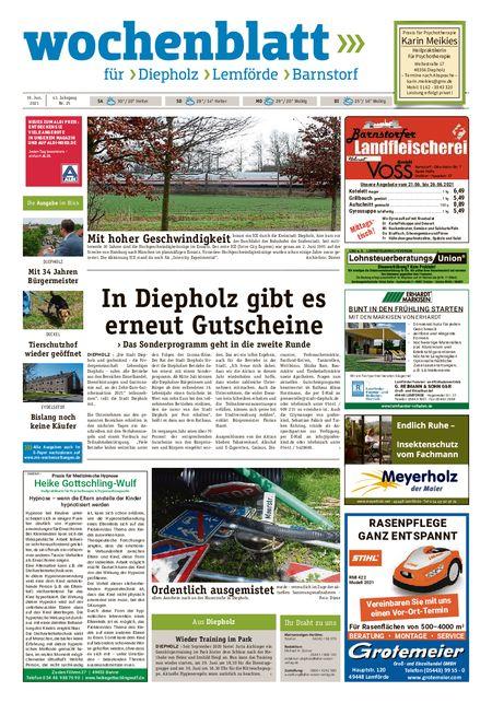 Barnstorfer Wochenblatt vom 19.06.2021