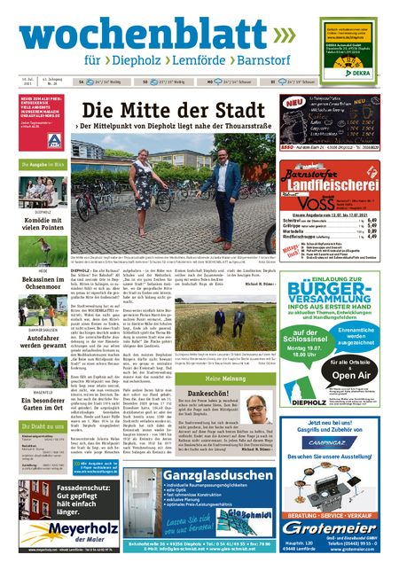 Barnstorfer Wochenblatt vom 10.07.2021