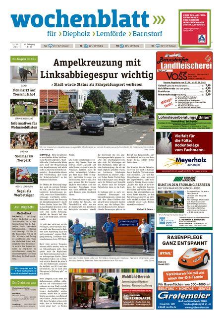 Barnstorfer Wochenblatt vom 31.07.2021