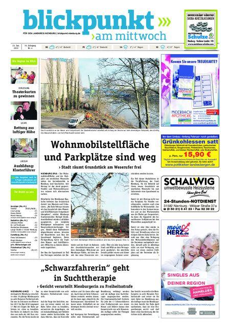 Blickpunkt Nienburg am Mittwoch vom 23.01.2019