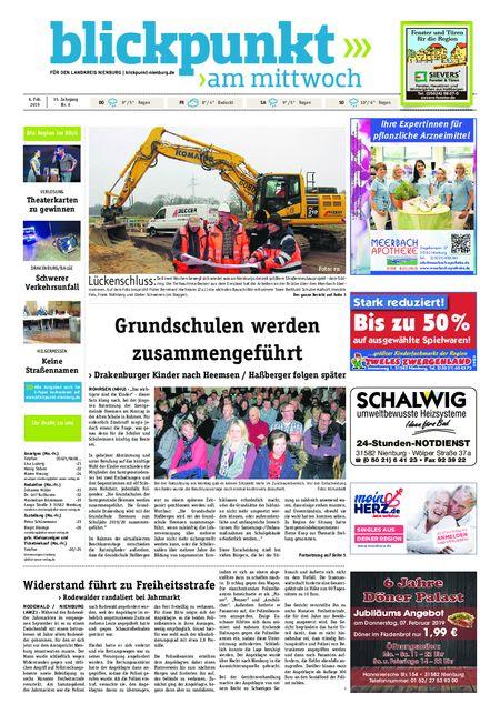 Blickpunkt Nienburg am Mittwoch vom 06.02.2019