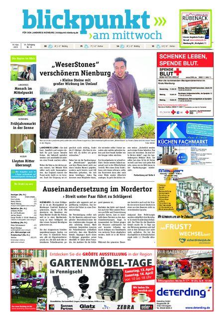 Blickpunkt Nienburg am Mittwoch vom 10.04.2019
